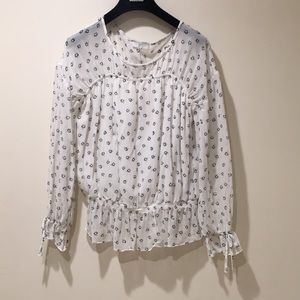 Joie silk blouse, small